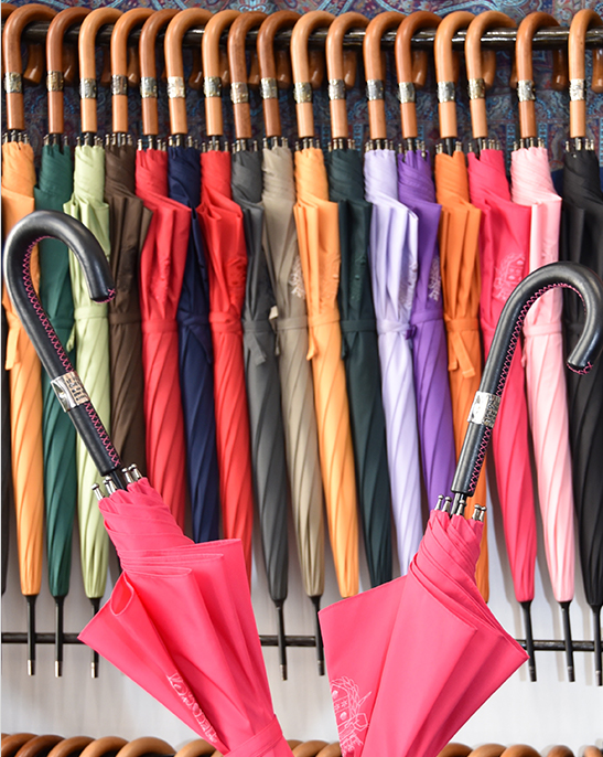 ensemble de parapluies