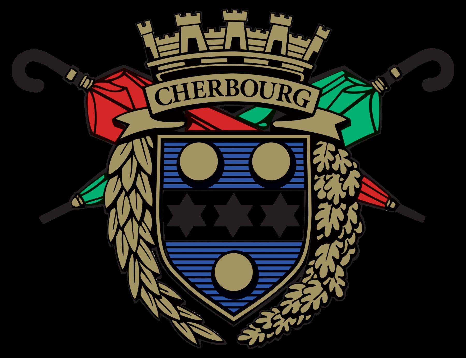 Logo du blason le veritable cherbourg en couleur