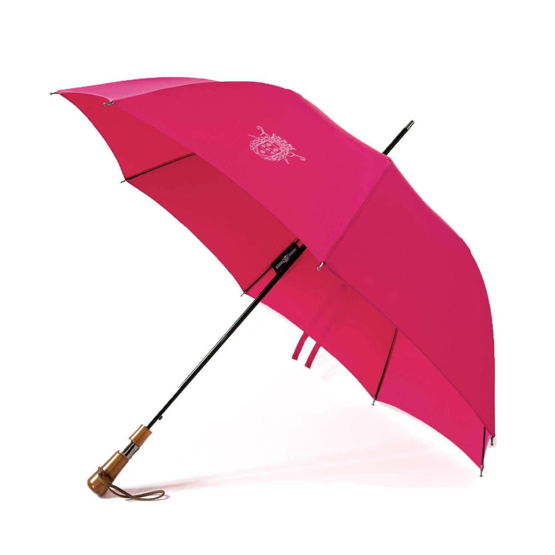 le veritable cherbourg, le parapluie L'Antibourrasque en fushia