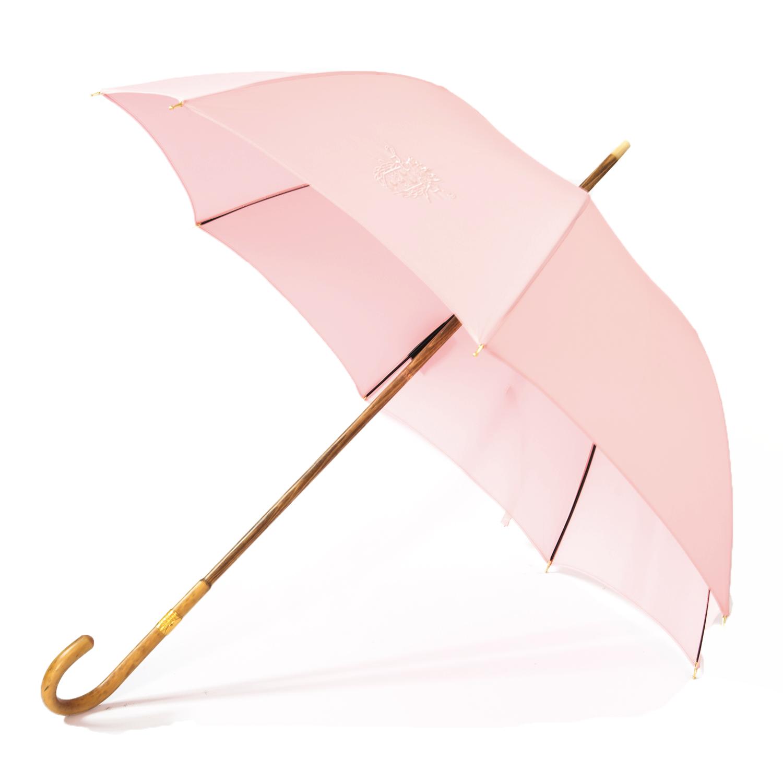 parapluie ombrelle collector en jonc, rose