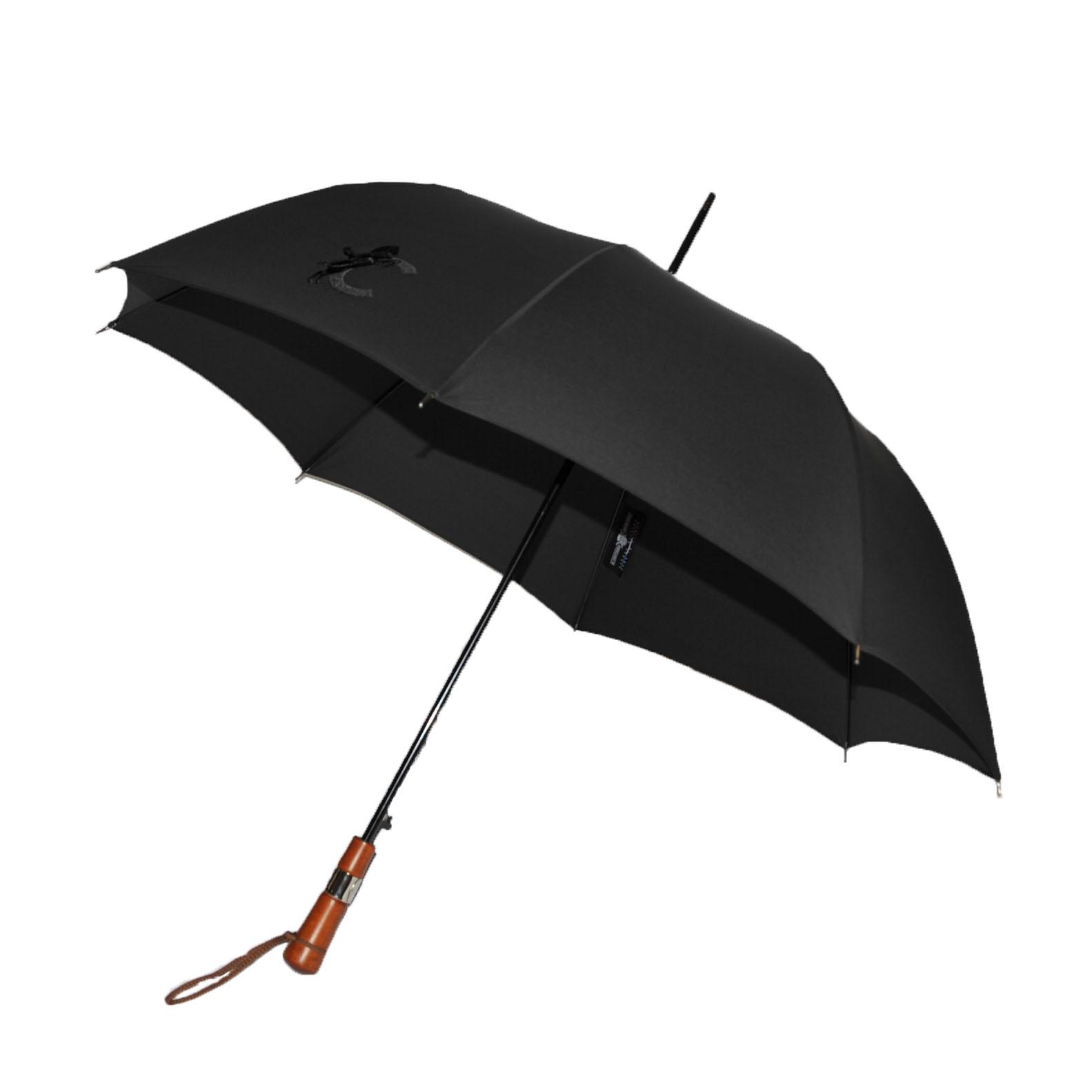 le veritable cherbourg - cadre noir - parapluie - luxe - edition limitee