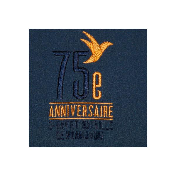 logo 75e anniversaire D-DAY
