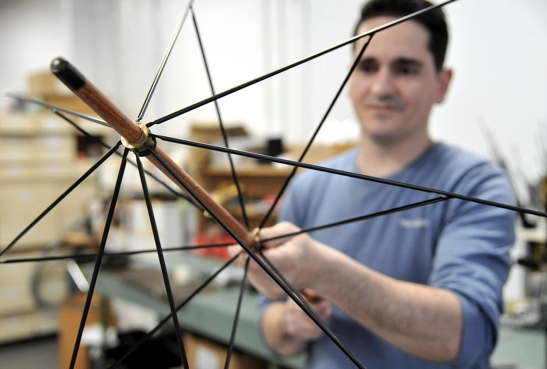 parapluie made in france - Marque haut de gamme - Manufacture