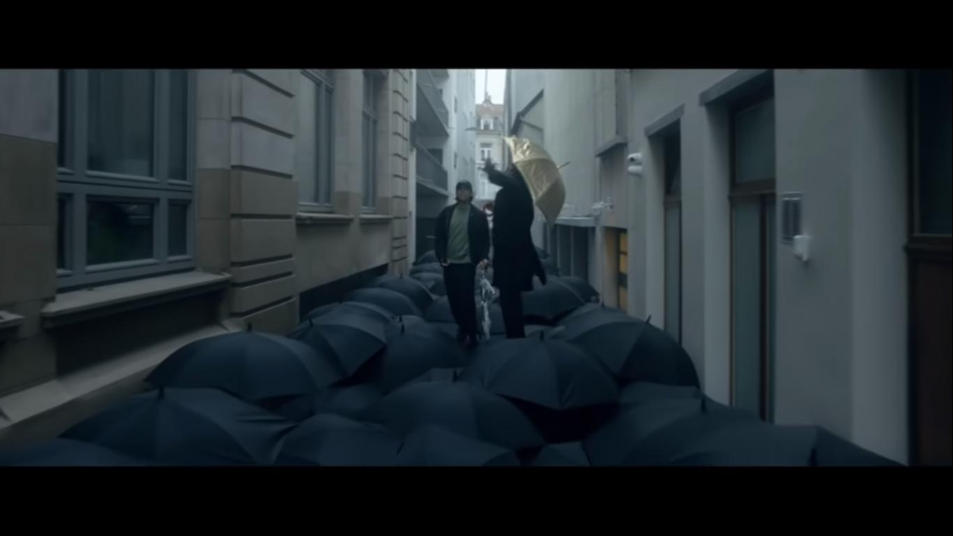 parapluie clip orelsan